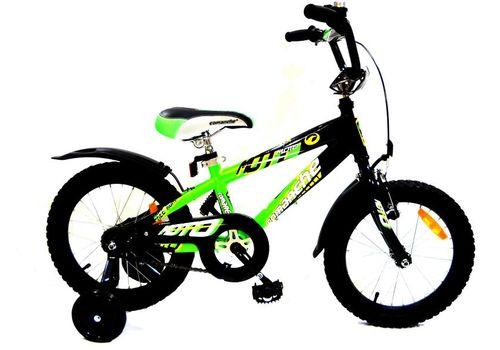 Велосипед Comanche Moto W16 Черный-зеленый, фото 1