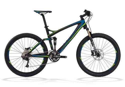 Велосипед Ghost RT Actinum 5900 black/blue/green 2012, фото 1