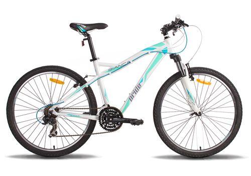 """Велосипед 26"""" Pride Bianca 2014 бело-бирюзовый, фото 1"""