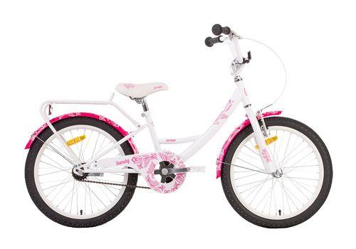 "Велосипед 20"" PRIDE SANDY 2014 бело-розовый, фото 1"