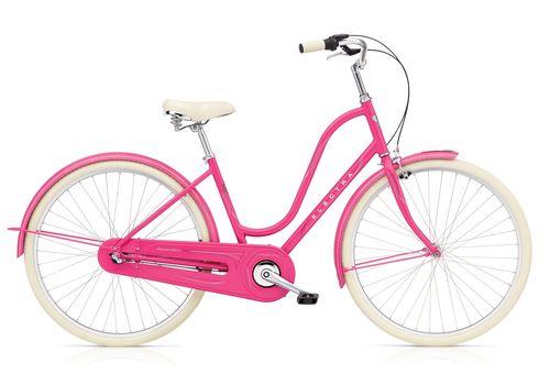 """Велосипед 28"""" Electra Amsterdam Original 3i Al Ladies' Deep Pink (SKDU-28-24), фото 1"""