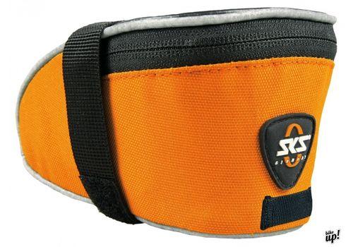 Подседельная сумка SKS Base Bag L крепление за рамки седла+подседел, оранж., фото 1