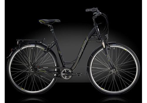 "Велосипед 28"" Bergamont Belami Lite N8 C2, 2014 black/lime grey (matt), фото 1"