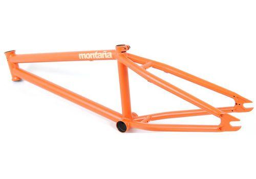 """Рама BMX FLYBIKES MONTANA 21"""" flat orange 2011, фото 1"""