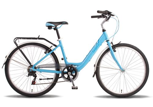 "Велосипед 26"" Pride Comfort Lady 2014 сине-белый, фото 1"
