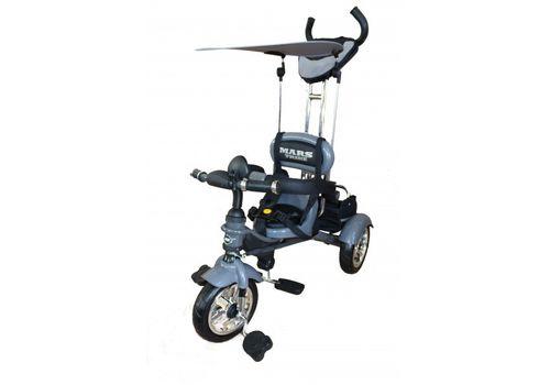 Велосипед 3-х колесний Mars Trike надувные колеса (графит), фото 1