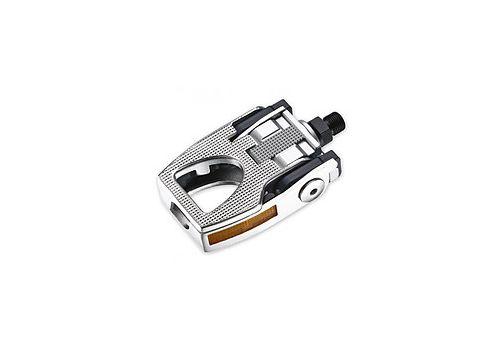 Педаль VP VP-F80 Flip складывающаяся 580 g серебряный (PED-00-A6), фото 1