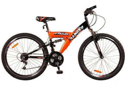 Велосипед Ranger Texas Ds Черный-красный, фото 1