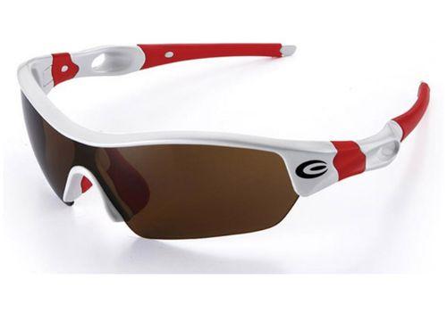 Очки EXUSTAR CSG09-4IN1, 4 линзы в комплекте, бело-красные (GLA-00-94), фото 1