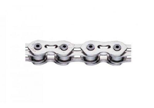 Цепь инд. 100 зв. 1/2x1/8 KMC K710SL silver/silver (CHA-10-08-40), фото 1