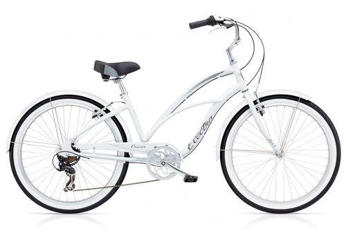 "Велосипед 26"" Electra Cruiser Lux 7D Ladies' White (SKD-23-36), фото 1"