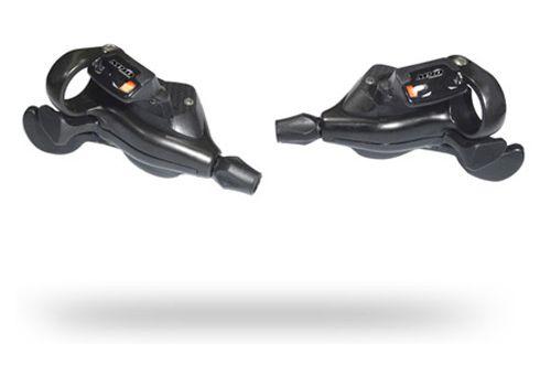 Ручки переключения SUN RACE M90 лев+прав инд. 9-k триггер черн (SHLC-56-03), фото 1