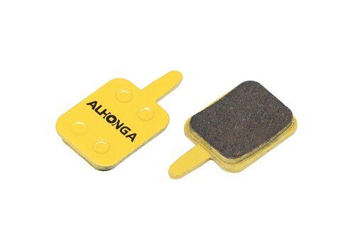 Колодки дисковые ALHONGA HJ-DS33 Assess Mechanical disc brake organic black (BRS-82-14), фото 1