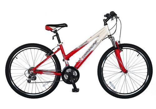 Велосипед Comanche Prairie Comp Lady Красный-белый, фото 1