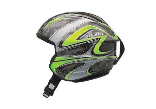 Шлем горнолыжный Giro Streif Green Carbon, фото 1