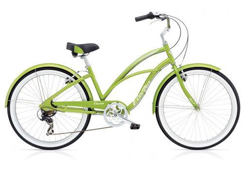 "Велосипед 26"" Electra Cruiser Lux 7D Ladies' Green Metallic (SKD-48-42), фото 1"