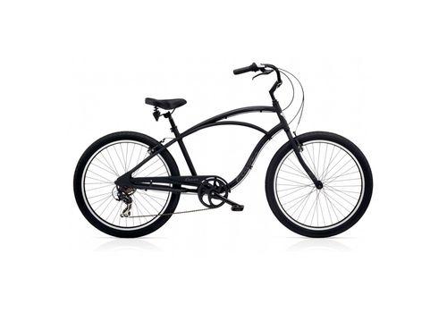 "Велосипед 26"" Electra Cruiser Lux 7D Men's Black Matte (SKD-43-90), фото 1"