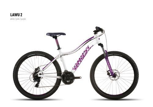 Велосипед Ghost Lawu 2 white/pink/purple 2016, фото 1
