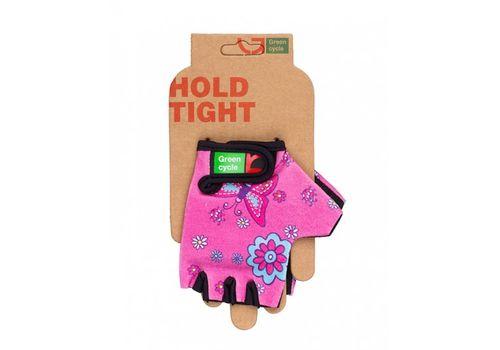 Перчатки Green Cycle NC-2338-2014 Kids без пальцев розовые, фото 1