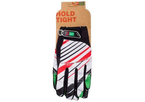 Перчатки Green Cycle NC-2369-2014 MTB с закрытыми пальцами бело-красные, фото 1