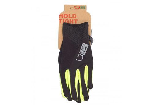 Перчатки Green Cycle NC-2581-2015 WindStop с закрытыми пальцами черно-зеленые, фото 1