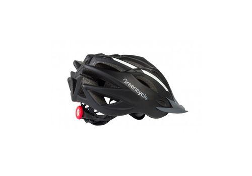 Сменный комплект оборудования на шлем Green Cycle Rock черно-белый, фото 1