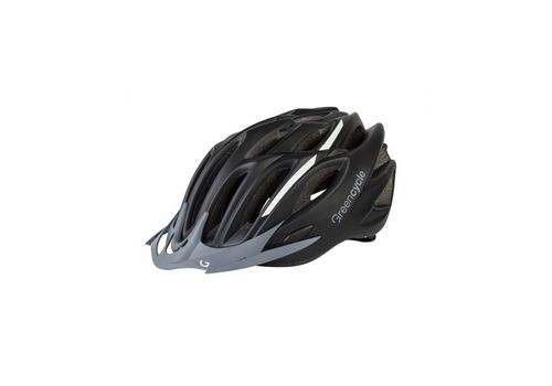 Шлем Green Cycle Rock черно-белый, фото 1