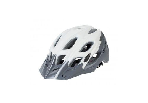 Шлем Green Cycle Enduro бело-серый, фото 1
