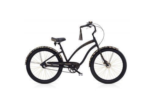"Велосипед 26"" Electra Glam Punk 3i Ladies Matte Black (SKD-52-85), фото 1"