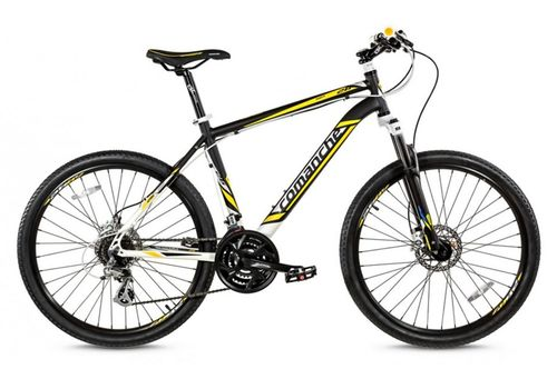 Велосипед Comanche Niagara Comp Черный-желтый-синий, фото 1