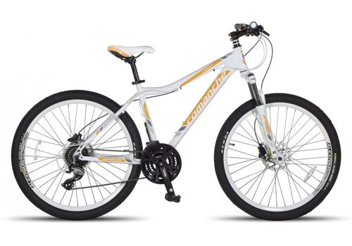 Велосипед Comanche Orinoco Comp Lady Белый-желтый, фото 1