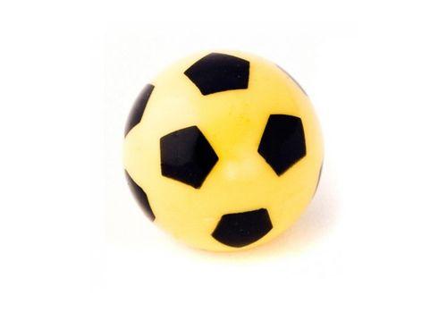 Колпачок для камеры TW V-27 в виде футбольного мяча из пластика, желт. цвета (в комплекте 4 шт) Автомобильного стандарта (CTU-26), фото 1