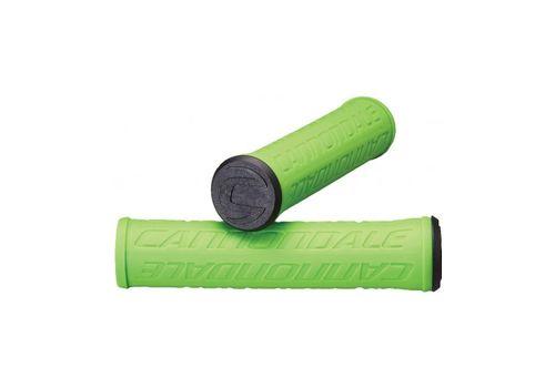 Грипсы Cannondale LOGO силикон зеленые (GRI-67-47), фото 1