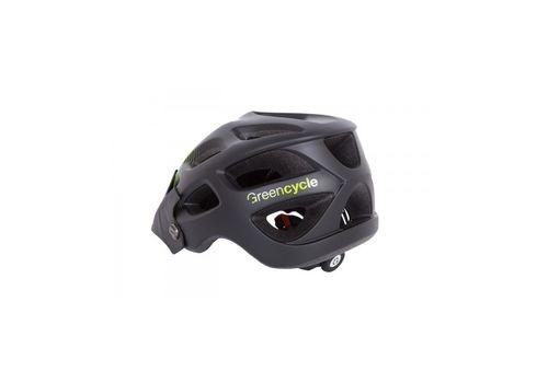 Шлем Green Cycle Slash темный зелено-салатовый матовый, фото 2