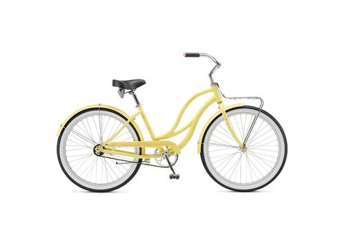 "Велосипед 26"" Schwinn Slik Chik Women yellow 2017 (SKD-89-36), фото 1"