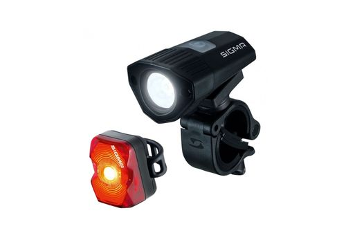 Комплект фонарей Sigma Sport BUSTER 100/NUGGET FLASH, фото 1