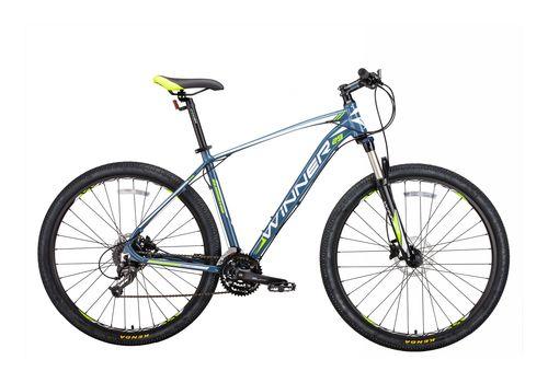"""Велосипед 29"""" Winner Gladiator серо-зеленый матовый 2018, фото 1"""