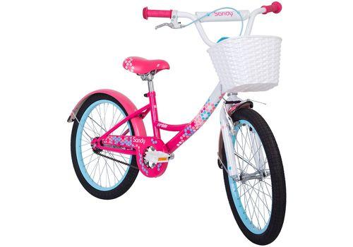 """Велосипед 20"""" Pride Sandy белый/малиновый/розовый 2018 (SKD-68-95), фото 2"""