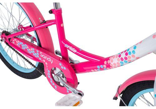 """Велосипед 20"""" Pride Sandy белый/малиновый/розовый 2018 (SKD-68-95), фото 4"""