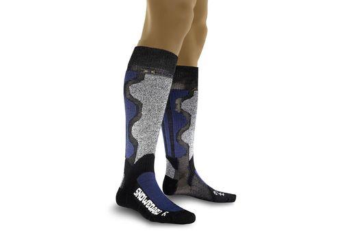 Термошкарпетки X-Socks Snowboarding X41 Grey/Blue (X20031), фото 1