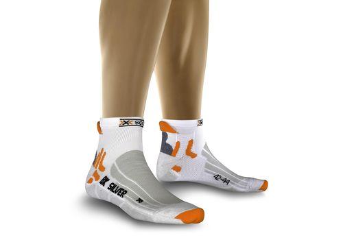 Термоноски X-Socks Biking Silver W070 (X25) White/Grey Melang (X20005), фото 1