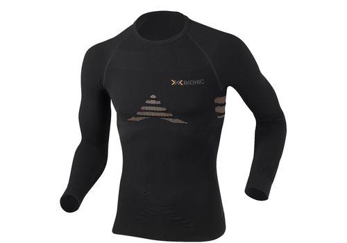 Мужская термофутболка X-Bionic Energizer Man Shirt Long Sleeves Roundneck X39 Black-Orange (I20100), фото 1