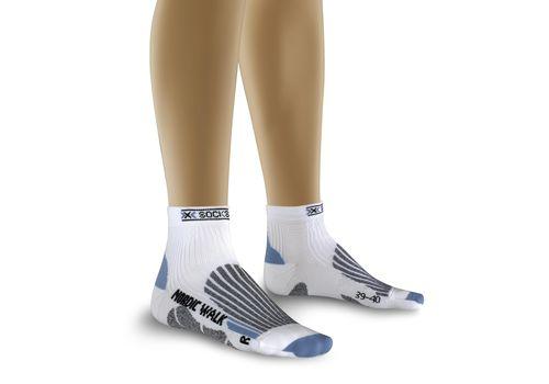 Термоноски X-Socks Nordic Walking Lady X82 White/Sky Blue (X20233), фото 1